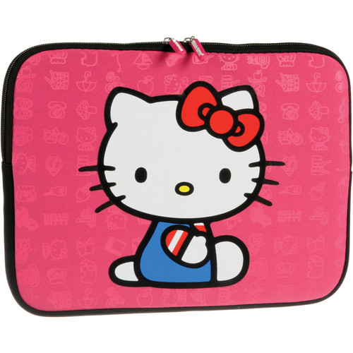 "Hello Kitty Pink Zippered 10.2"" Sleeve"