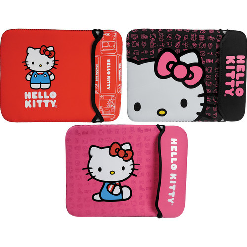 Hello Kitty Neoprene Sleeve for Notebook with a Screen up to 12""