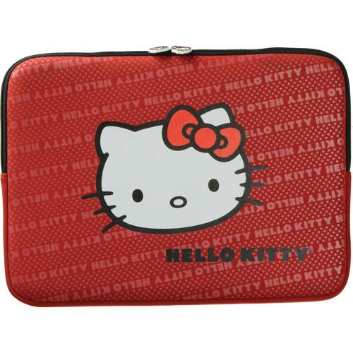 "Hello Kitty 14"" Red Neoprene Sleeve"