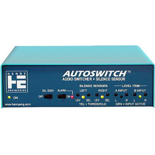 Henry Engineering Autoswitch - Audio Switcher and Silence Sensor