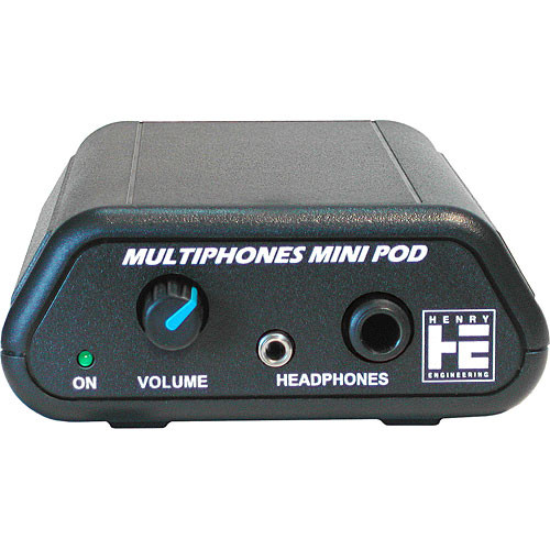 Henry Engineering MultiPhones MiniPod Stereo Headphone Amplifier