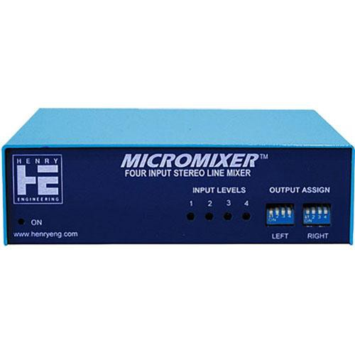 Henry Engineering MicroMixer Audio Mixer