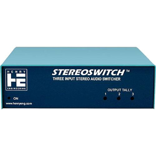 Henry Engineering Stereo Switch - Stereo Source Switcher