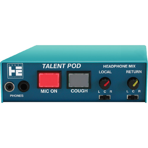 Henry Engineering Talent Pod Microphone & Headphone Controller