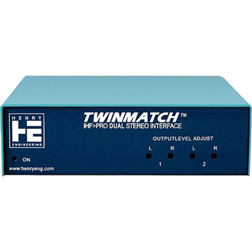 Henry Engineering Twin Match Level and Impedance Interface
