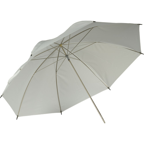 "Hensel 42"" Translucent Umbrella (White )"