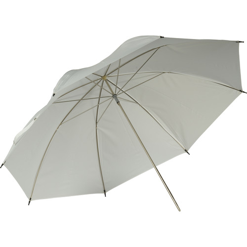 "Hensel 32"" White Translucent Umbrella"