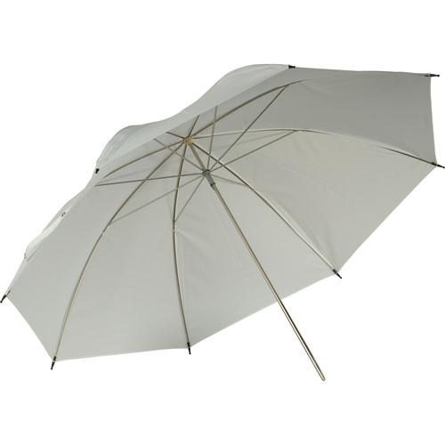 """Hensel 32"""" White Translucent Umbrella"""