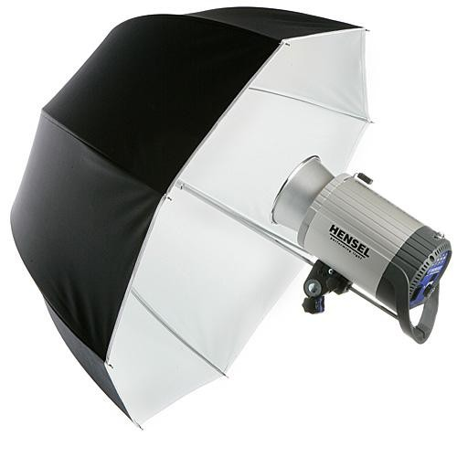 "Hensel Parabolic Umbrella, 32"" (80cm) - White"