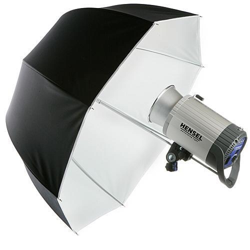 "Hensel Parabolic Umbrella, 32"" (80cm) - White"