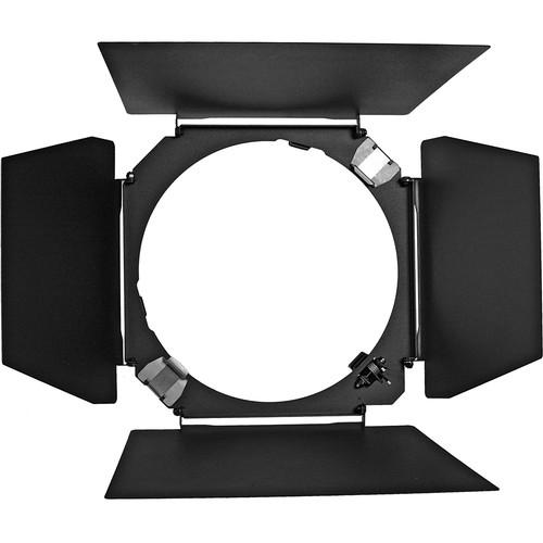 """Hensel 4-Leaf Barndoor with Filter Holder for 9"""" Reflector"""