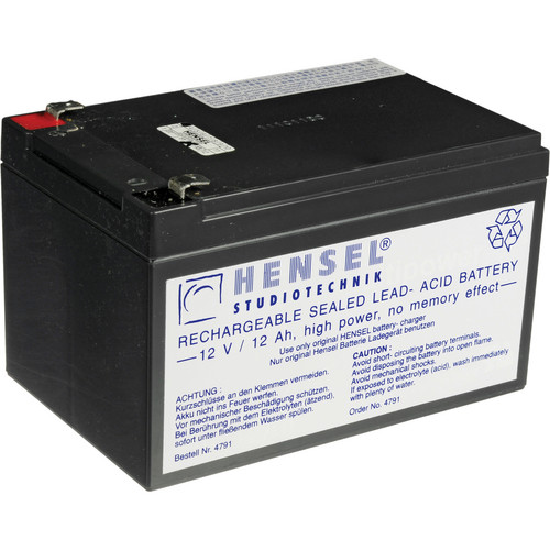 Hensel Battery for Porty Premium (12V/12Ah)