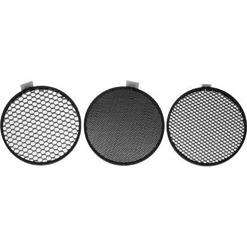 "Hensel 7"" Honeycomb Grid Set of 3 (20, 30, 40°)"