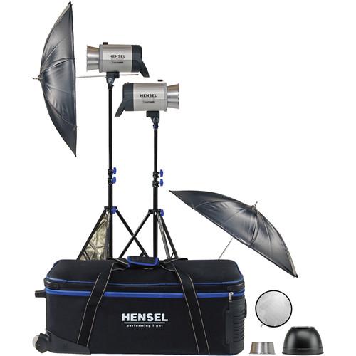 Hensel Integra 500 Plus Freemask 2 Light Kit