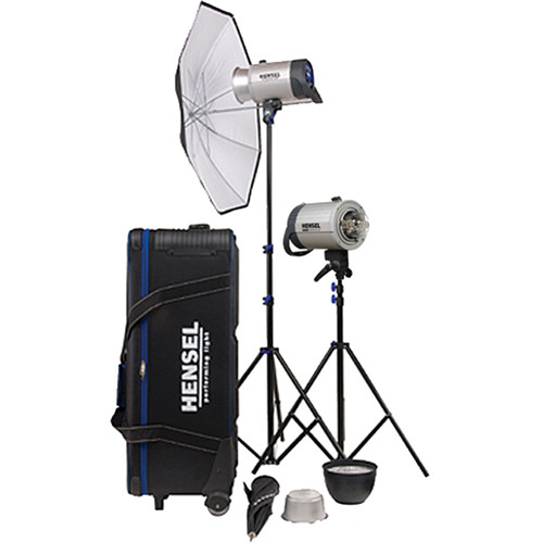 Hensel Integra 500 2 Light Kit with Stands