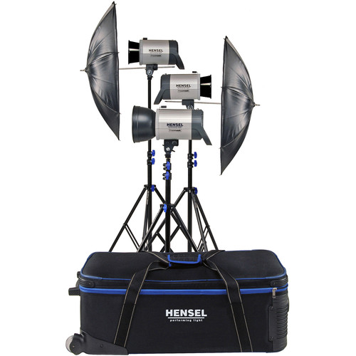 Hensel Integra 500 Plus Freemask 3 Light Kit