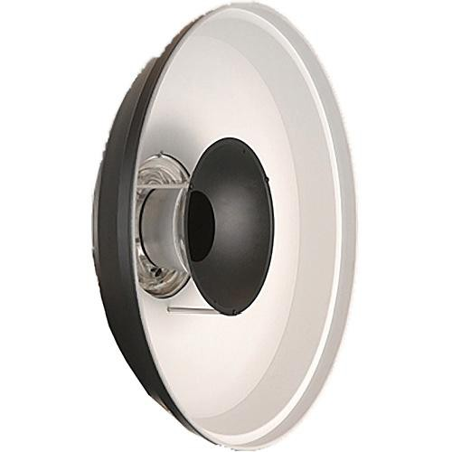 "Hensel White Beauty Dish VII for Ringflash - 22"""