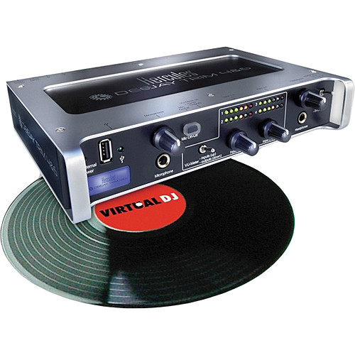 Hercules DeeJay TRIM 4&6 Starter Kit - DJ Audio Interface & VirtualDJ LE Software Kit
