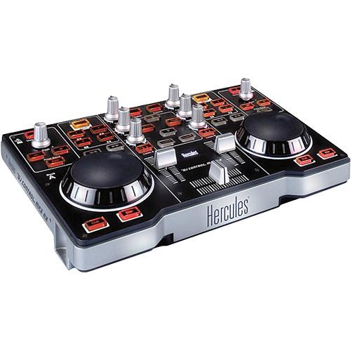 Hercules DJ Control MP3 e2 - Compact USB DJ Control Surface