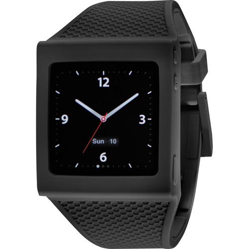 Hex Watch Band for iPod Nano Gen 6 (Black)