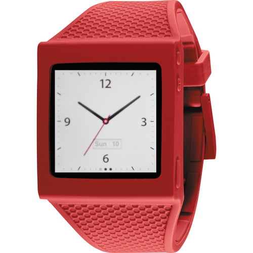 Hex Watch Band for iPod Nano Gen 6 (Red)