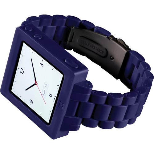 Hex Icon Watch Band for iPod nano Generation 6/7 (Purple)