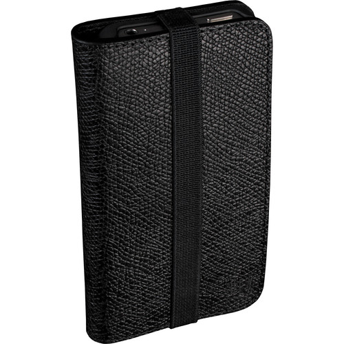 Hex HX1235-BLACK Axis Wallet for iPhone 4/4S