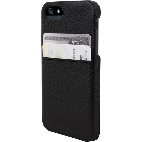 Hex Solo Wallet for iPhone 5 (Torino Black)