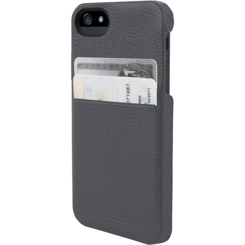Hex Solo Wallet for iPhone 5 (Torino Gray)