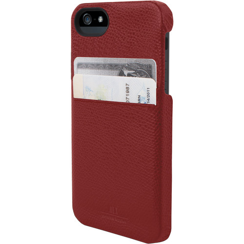 Hex Solo Wallet for iPhone 5 (Torino Red)