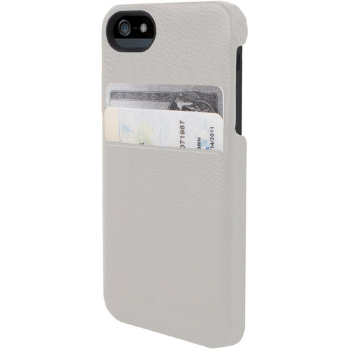 Hex Solo Wallet for iPhone 5 (Torino White)