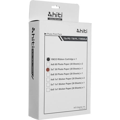 "HiTi 5.0x7.0"" Print Pack (30 Sheets x 12 Packs)"