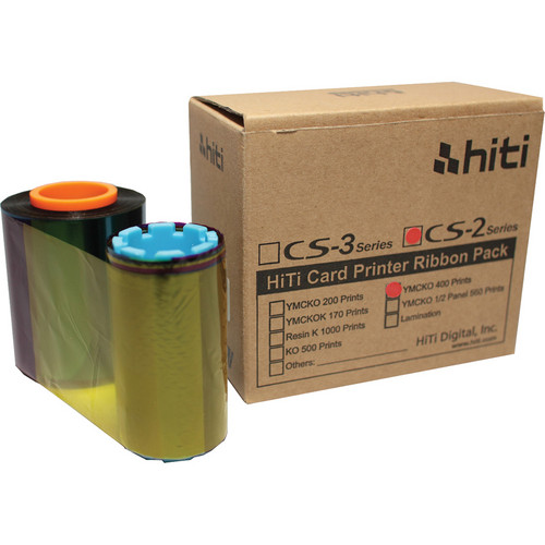 HiTi CS-200e YMCKO Color Ribbon Pack (6400 Prints)