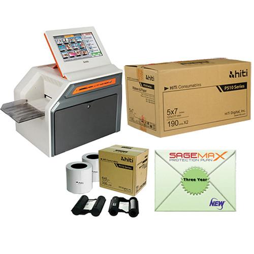 "HiTi P510K 6.0"" Roll-Type Photo Printer Kiosk (US/CA Version) Starter Kit"
