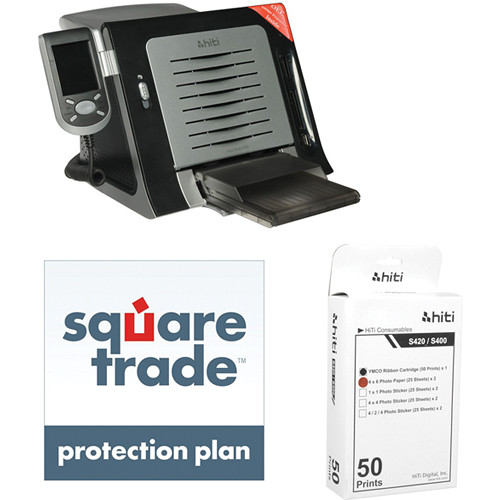 HiTi S420 Passport Photo Printer (US/CA Version) Starter Kit