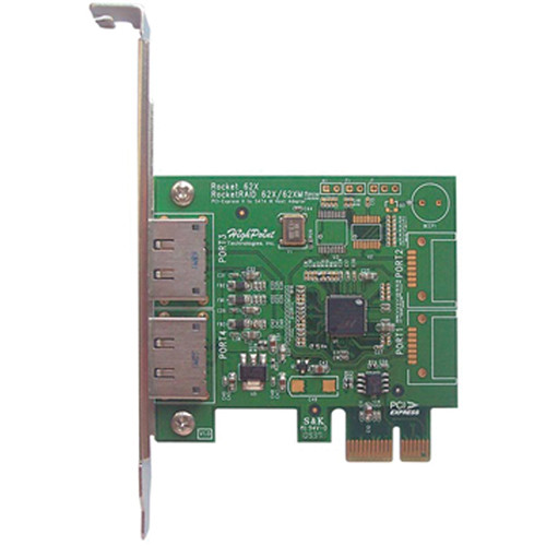 HighPoint Rocket 622 Dual Port eSATA 6 Gbps PCI Express 2.0 Host Adapter