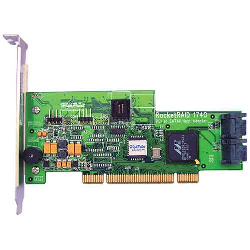 HighPoint RocketRAID 1740 4-Channel PCI SATA II RAID Controller