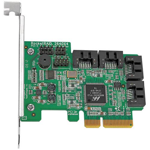 HighPoint RocketRAID 2640 x4 SGL 4 Channel PCI-Express x4 SAS RAID Controller