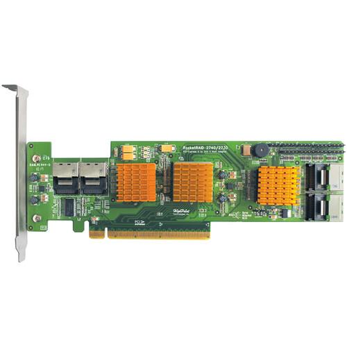 HighPoint RocketRAID Internal PCI Express Gen 2.0 x 16 SAS Switch Architecture