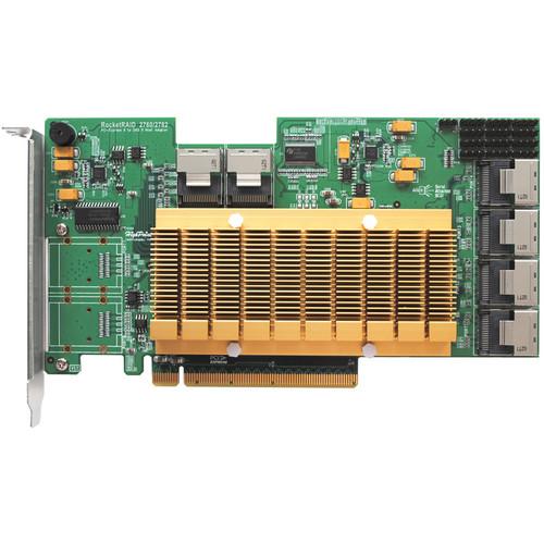 HighPoint RocketRAID 2760A SAS 6 GB/s PCI Express 2.0 x16 Host Bus Adapter