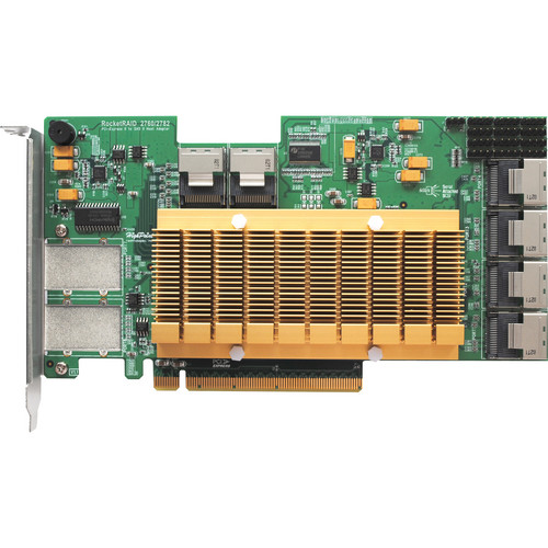 HighPoint RocketRAID 2782 SAS 6 GB/s PCI-E 2.0 x16 Host Bus Adapter