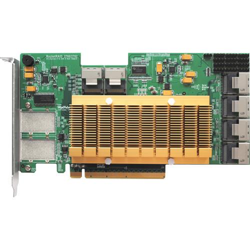 HighPoint RocketRAID 2782 SAS 6 GB/s PCI-E 2.0 x16 Host Bus Adapter