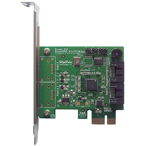 HighPoint RocketRAID 620 6 Gbps SATA RAID Host Adapter