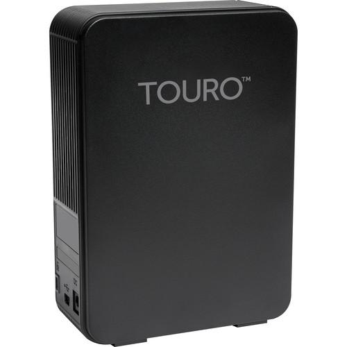 HGST 4TB Touro Desk DX3 USB 3.0 Hard Disk Drive (Black)