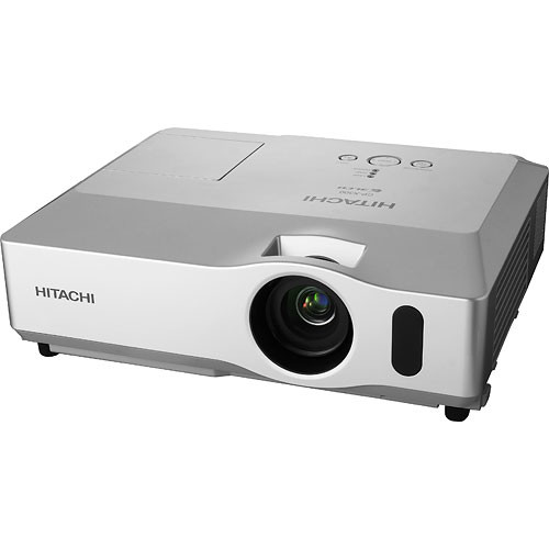 Hitachi cp x301 portable 3lcd projector cp x301 b h photo for Portable lcd projector reviews
