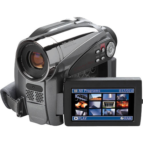 Hitachi DZHS500A DVD-HDD Hybrid Camcorder Kit
