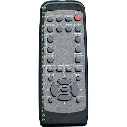 Hitachi HL02209 Replacement Remote Control for CP-X1230 Projector