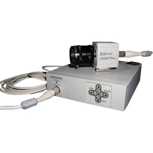 "Hitachi HV-D27A  Remote Head 3CCD Color Camera (1/2"" CCD)"