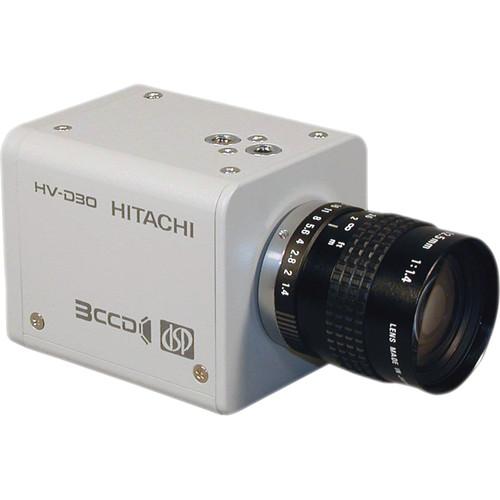 Hitachi HV-D30-S4 High Resolution C Mount 3CCD Color Camera