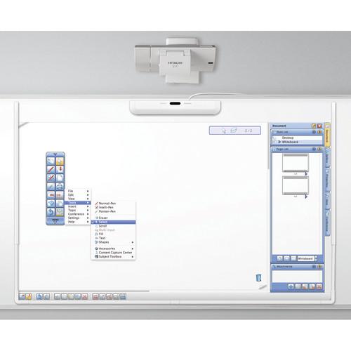 Hitachi Interactive Whiteboard LinkPAK-2-W Wide Format Bundle